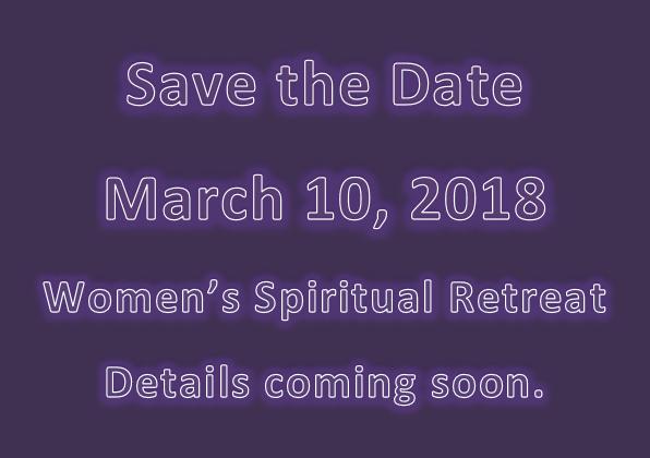 Spiritual Retreat 2018